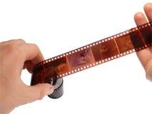 Foto una pellicola Fotografia Stock