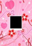 Foto und Blumen Lizenzfreie Stockfotografie