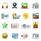 Foto und Video stock abbildung