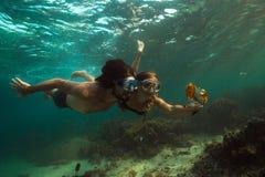 Foto Unterwasser Lizenzfreie Stockfotografie