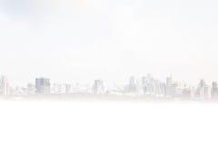 Foto vaga de messa a fuoco della costruzione della città Fotografia Stock