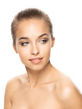 Foto van aantrekkelijke jonge vrouw Stock Foto's