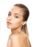 Foto van aantrekkelijke jonge vrouw Royalty-vrije Stock Fotografie