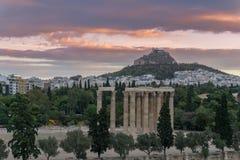 Foto van beroemd Roman Agora, het historische centrum van Athene, Attica, Griekenland Royalty-vrije Stock Afbeelding