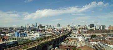 Foto van Birmingham, het Verenigd Koninkrijk door hommel wordt gemaakt die stock afbeelding