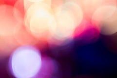 Foto van bokehlichten Royalty-vrije Stock Fotografie