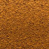 Foto van close-uptextuur van bruine gemalen onmiddellijke koffie, achtergrond stock fotografie