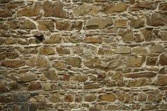 Foto van de donkere textuur van de steenmuur Royalty-vrije Stock Afbeelding