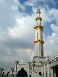 Foto van de toren van de moskee Stock Afbeelding