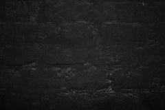 Donkere de textuurachtergrond van de steenmuur Royalty-vrije Stock Afbeelding
