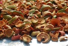 foto van droge appelen Royalty-vrije Stock Afbeeldingen