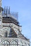 Foto van Duomo Di Firenze op een zonnige ochtend wordt genomen die Royalty-vrije Stock Afbeeldingen
