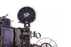 Foto van een oude filmprojector Royalty-vrije Stock Foto's