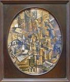 Foto van het originele schilderen ` de Architecten` s Lijst ` door Pablo Picasso Royalty-vrije Stock Foto's