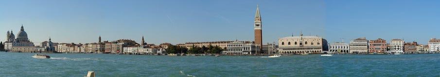Foto van het panorama van Venetië, Italië Stock Afbeelding