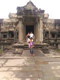 Foto van het planreis van Kambodja Royalty-vrije Stock Foto's