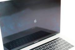 Foto van MacBook Pro MacBook Pro Retina door Apple Inc wordt gemaakt dat royalty-vrije stock foto's