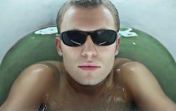 Foto van mannelijk gezicht Royalty-vrije Stock Afbeelding