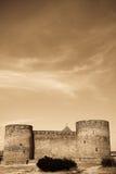Foto van oud kasteel Stock Foto's