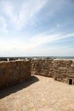 Foto van oud kasteel highwalls Royalty-vrije Stock Fotografie