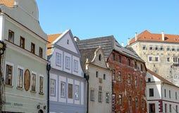 Foto van oude Europese gebouwen Royalty-vrije Stock Afbeeldingen