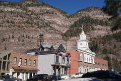 Foto van Ouray, Colorado Royalty-vrije Stock Afbeeldingen