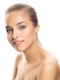 Foto van schoonheids jonge vrouw Royalty-vrije Stock Afbeeldingen
