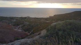 Foto van strand stock afbeelding