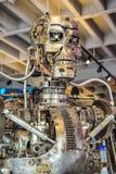 Foto van t-800 Endoskeleton van de 3D Begeindiger Royalty-vrije Stock Afbeelding
