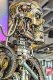 Foto van t-800 Endoskeleton van de 3D Begeindiger Stock Afbeelding