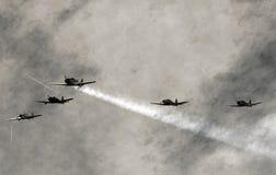 Foto velha da aviação Fotografia de Stock Royalty Free