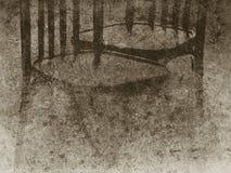 Foto velha das cadeiras imagem de stock