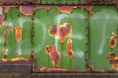 Foto vestida industrial do close up do metal Imagem de Stock