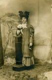Foto vieja. Fotografía de archivo