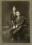 Foto vieja. Foto de archivo