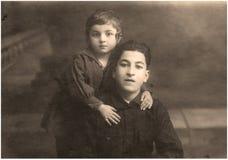 Foto vieja. Fotos de archivo