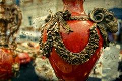 Foto vieja con la cerámica antigua 4 Imagen de archivo