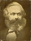 Foto vieja de Karl Marx Fotografía de archivo libre de regalías