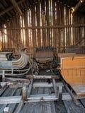 Foto vieja del granero fotografía de archivo libre de regalías