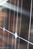 Foto-voltaische Zelle Stockfotografie