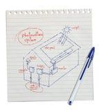 Foto-voltaisches System Stockbilder