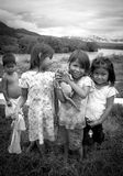 Foto von AshÃ-¡ ninka Kindern stockbild