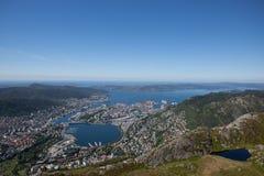 Foto von Bergen, Norwegen Stockfotografie