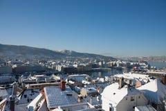 Foto von Bergen, Norwegen Lizenzfreies Stockbild