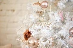 Foto von Dekoration 2018 der frohen Weihnachten und des neuen Jahres Lizenzfreie Stockbilder
