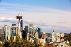 Foto von im Stadtzentrum gelegenem Seattle von Kerry Park Seattle stockfotos