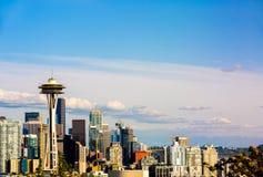 Foto von im Stadtzentrum gelegenem Seattle von Kerry Park Seattle stockbilder