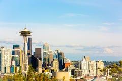 Foto von im Stadtzentrum gelegenem Seattle von Kerry Park Seattle lizenzfreies stockbild