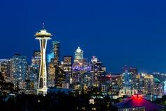 Foto von im Stadtzentrum gelegenem Seattle von Kerry Park Seattle lizenzfreie stockfotos