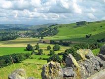 Derbyshire-Abstiege Stockfoto